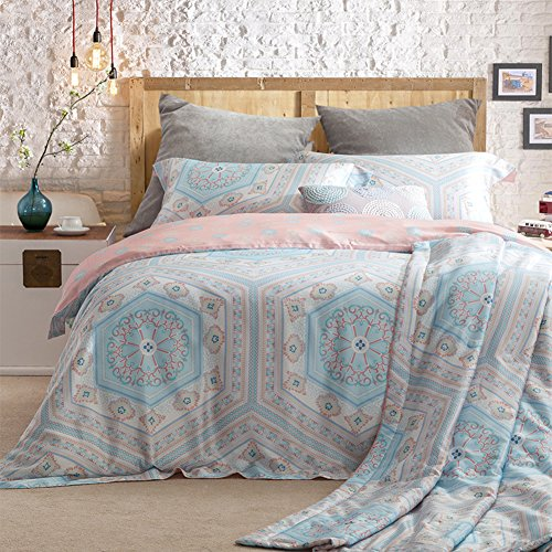 American style 4 sets bedding set100 extra long staple cotton wedding festive decoration a queen1 outlet american style 4 sets bedding set100 extra long staple cotton bedding collection quilt cover junglespirit Images