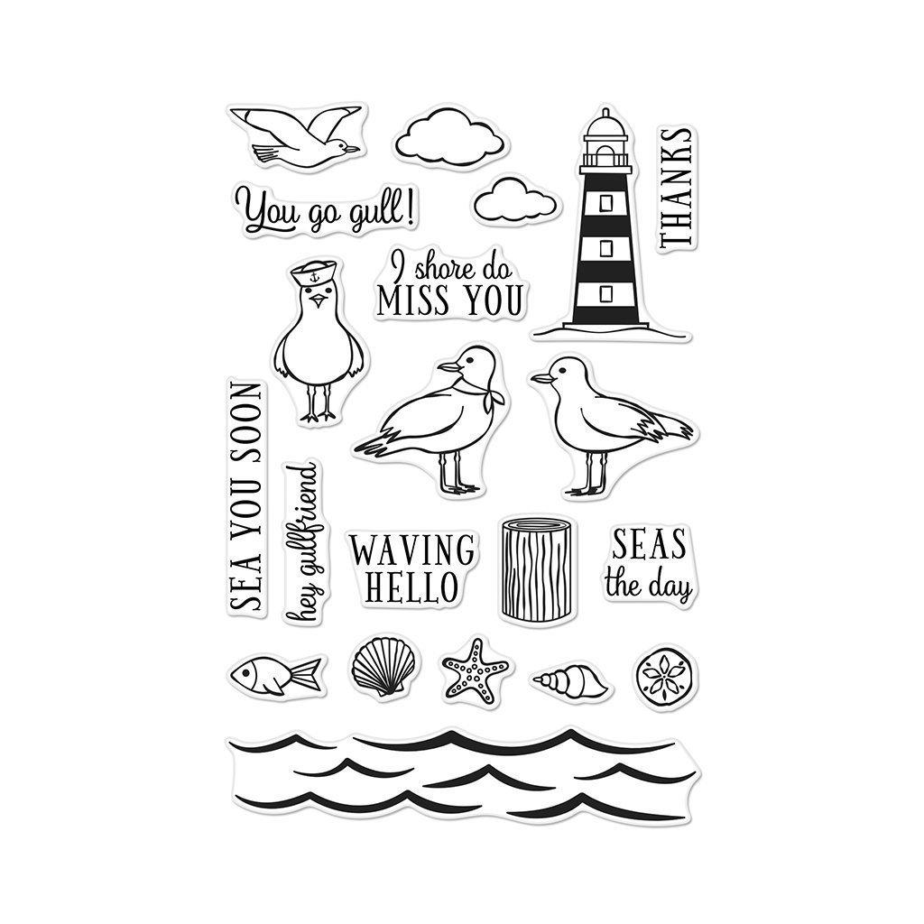 Seas The Day Seagulls
