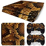 MODFREAKZ™ Console and Controller Vinyl Skin Set - Snake Scales for PS4 Slim