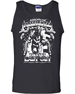 American Firefighter Muscle Shirt Hero Fire and Rescue FD Volunteer Sleeveless