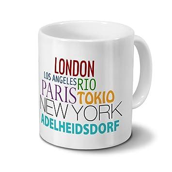 Stadtetasse Adelheidsdorf Design Famous Cities Of The World