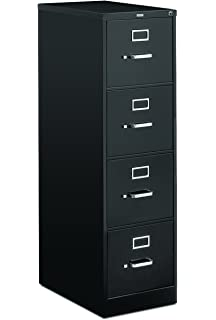 Charmant HON 4 Drawer Letter File   Full Suspension Filing Cabinet With Lock, 52