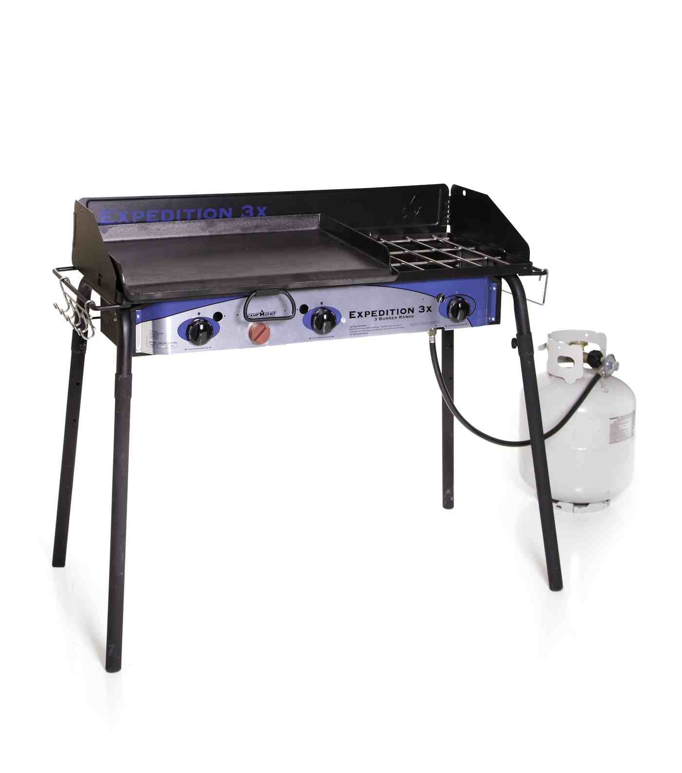 Camp Chef Expedition 3X Triple Burner Stove w/Griddle by Camp Chef