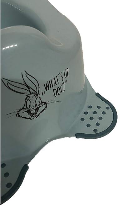 Bis 15kg 18-36 Monate Made in EU mit rutschhemmenden F/ü/ßchen Looney Tunes Baby T/öpfchen Bugs Bunny