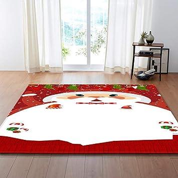 Amazonde Shangly Wohnzimmer Teppich Matten Fröhliche Weihnachten