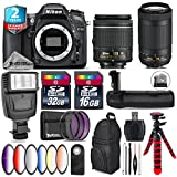 Holiday Saving Bundle for D7100 DSLR Camera + AF-P 70-300mm VR Lens + AF-P 18-55mm + Battery Grip + 6PC Graduated Color Filter Set + 2yr Extended Warranty + 32GB Class 10 - International Version