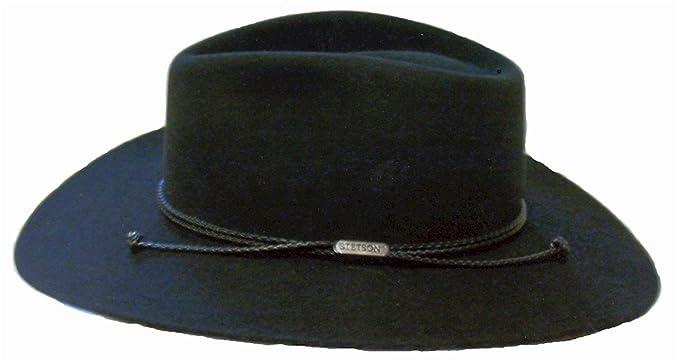 9a85d3e18dd32 Stetson 0440 Carson Cowboy Hat Color Black at Amazon Men s Clothing ...