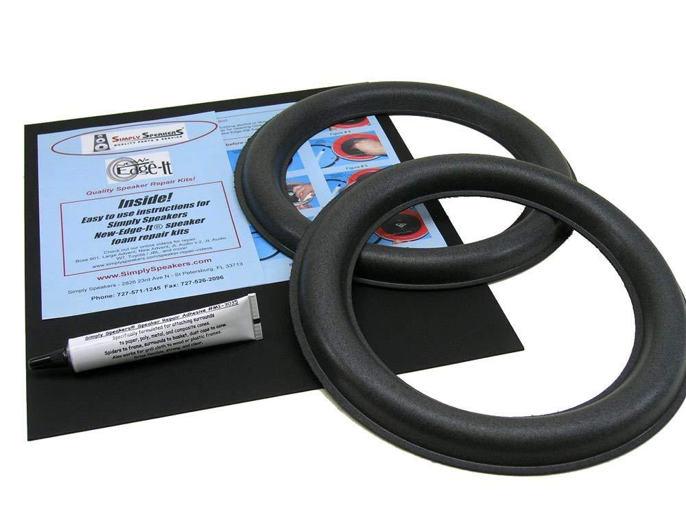JL Audio Speaker Foam Edge Repair Kit, 10'', 10W6 Version 2, 10W6 v. 2, FSK-10JLv2