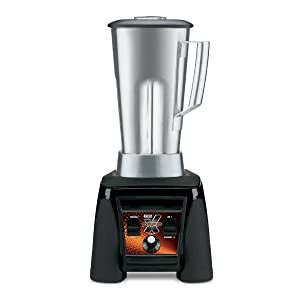 Waring Commercial MX1200XTS Xtreme Hi-Power Variable-Speed Food Blender with Stainless Steel Container, 64-Ounce
