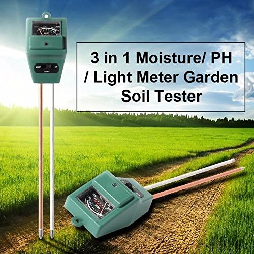 JIYADigital 3 in 1 Flowers Soil Water Light Tester Sensor Monitor for Aquarium