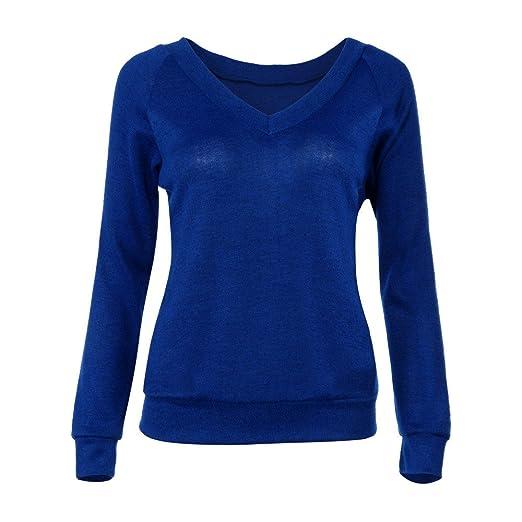 ZODOF Camisas Mujer Casual, Camiseta de Cuello Alto de Solapa Casual para Mujer Camisetas de Blusa de Hebilla Botón de Encaje O Cuello Túnica de Manga ...