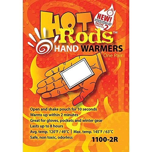 Hot Rods Hand Warmers (5 Pack)