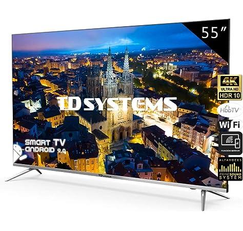 Oumij Smart TV Televisor con Pantalla LCD HD Puertos HDMI Smart TV para el Hogar, Multifuncional BCL-32A / 3216D Negro 32 Pulgadas HD LCD Smart TV 2K Edición en Línea (EU): Amazon.es: