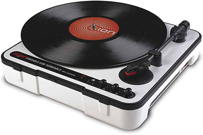 ION Audio iPT USB - Tocadiscos (Windows XP (32-bit/64-bit), Vista ...