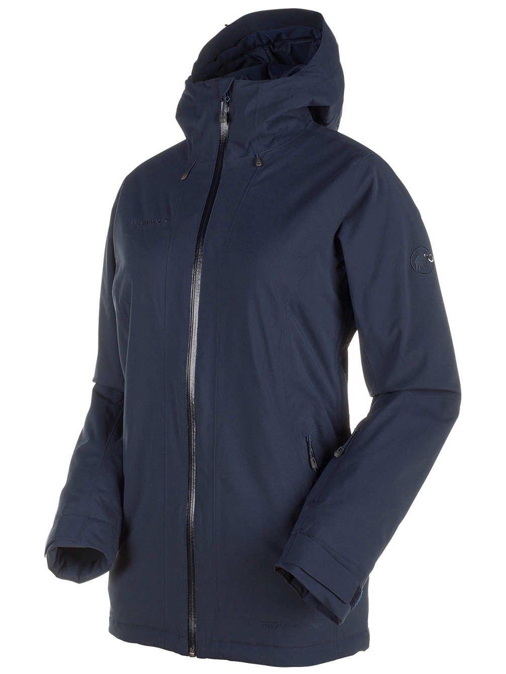 Mammut Nara HS Thermo Hooded Women's Jacket B071GD186H L|ネイビー ネイビー L
