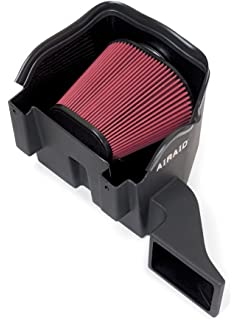 DRY FILTER FOR DODGE 02-10 RAM 1500 4.7L V8 RED COLD AIR INTAKE KIT