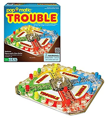 Classic Trouble Board Game 3-Pack