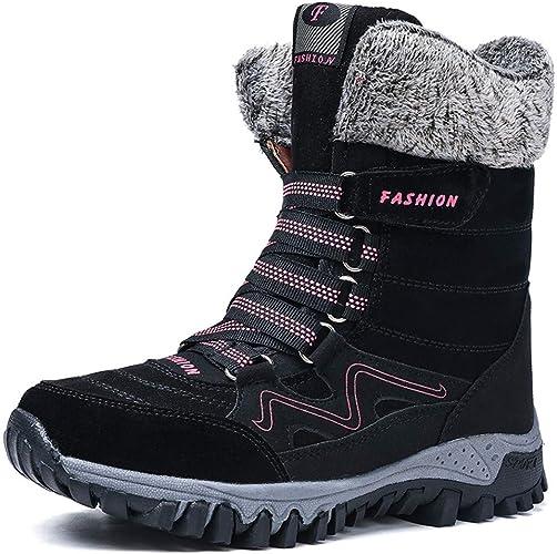 Womens Snow Boots Ladies Winter Fur