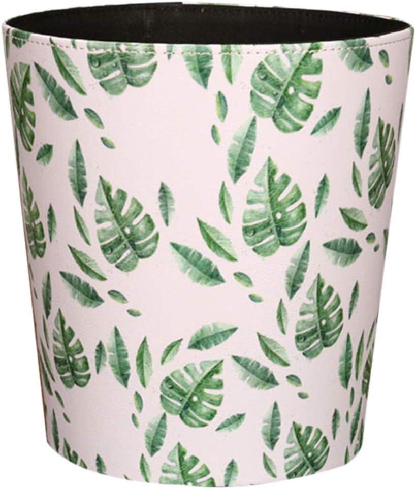 Jamaika-Kaktus GODNECE Wasserdichte 10L Papierkorb f/ür Kinderzimmer Papierkorb B/üro Leder M/ülleimer Kinderzimmer