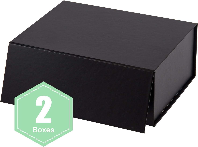2 cajas de regalo plegables con cierre magnético para fiestas, bodas, papel de regalo, para dama de honor, de la marca WRAPAHOLIC: Amazon.es: Hogar