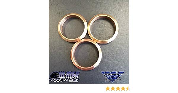 1pc//3pcs//4pcs Copper Exhaust Gasket Set Fit For Yamaha Snowmobile FX Nytro RS Vector 99999-03989 MMKUTZ