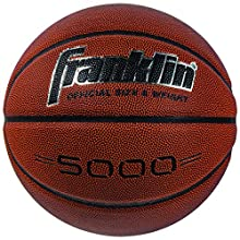 "Franklin Sports 5000 Official Size 29.5"" Basketball - Tan/Black"