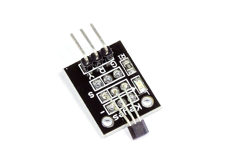 ARCELI 5Pcs/M/ódulo de Sensor magn/ético Hall Effect KY-003 DC 5V para Arduino PIC AVR Smart Cars