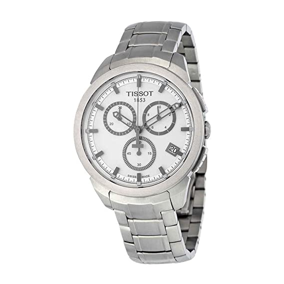 Tissot Reloj Cronógrafo para Hombre de Cuarzo con Correa en Acero Inoxidable T069.417.44.