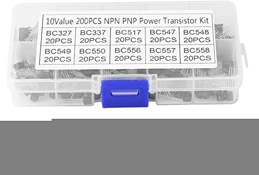 Each Pack Mixed Transistors 10 Value TO-92 Assortment Kit 200Pcs//box
