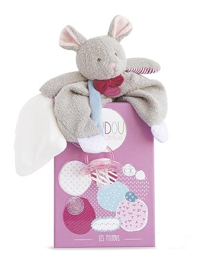 Doudou et Compagnie dc3112 la ptitous - Mouse Chupete Clip ...