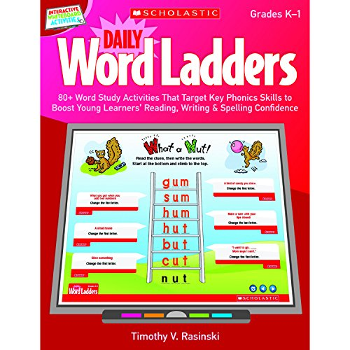 (Interactive Whiteboard Activities: Daily Word Ladders (Gr. K–1): 80+ Word Study Activities That Target Key Phonics Skills to Boost Young Learners' ... Whiteboard Activities (Scholastic)))