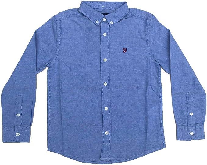Farah Kids Brewer LS Oxford Camisa para Niños: Amazon.es: Ropa y accesorios