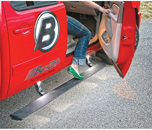 Bestop 75101-15 PowerBoard Electric Retractable Running Board Set for 2002-2008 Dodge Ram 1500; 2003-2009 2500/3500 Quad Cab