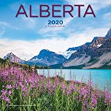 Alberta 2020 12 x 12 Inch Monthly Square Wall Calendar, Canadian Regional Travel Canada
