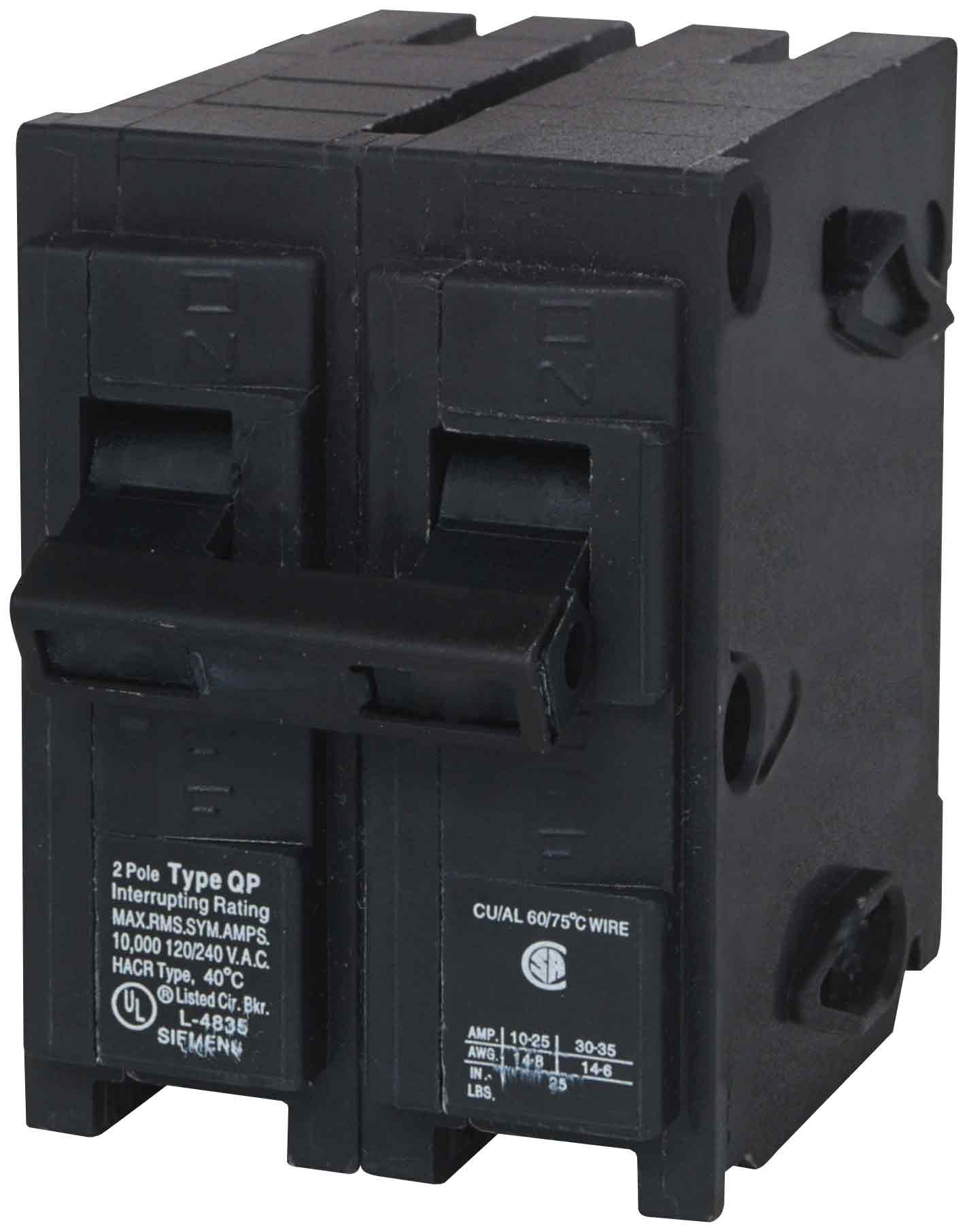 Murray MP230ST 120/240-Volt type MP-T 30-Amp Circuit Breaker with 120-Volt Shunt Trip Double pole