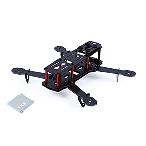 Amazon.com: YKS DIY Glass Fiber Mini 250 Quadcopter Frame Kit for ...