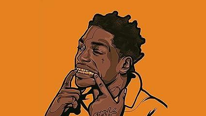 Amazon Com Kodak Black Famous American Rapper And Singer 12 X 18
