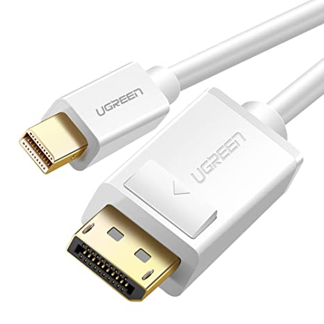 Mini Displayport a Displayport, UGREEN Cable Mini DP a DP 4K x 2K Resolución para