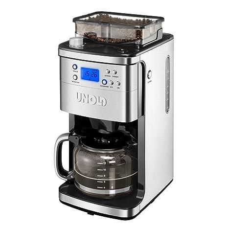 Unold 28736 - Máquina de café con molinillo, 900-1050 W
