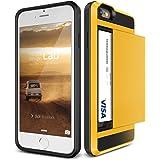iPhone6s Plus / iPhone6 Plus ケース カード収納 VERUS Damda Slide 背面 カード ケース 耐衝撃 二重構造 衝撃吸収 カバー [ アイフォン 6s プラス / 6 プラス 専用 ] レモン