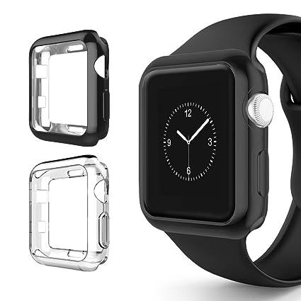 Amazon.com: Alritz - Carcasa para Apple Watch Series 3 ...