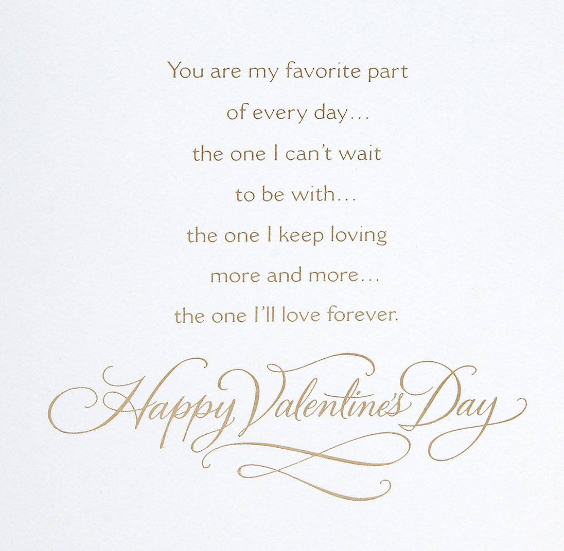 Valentine's Day Card Inside Message