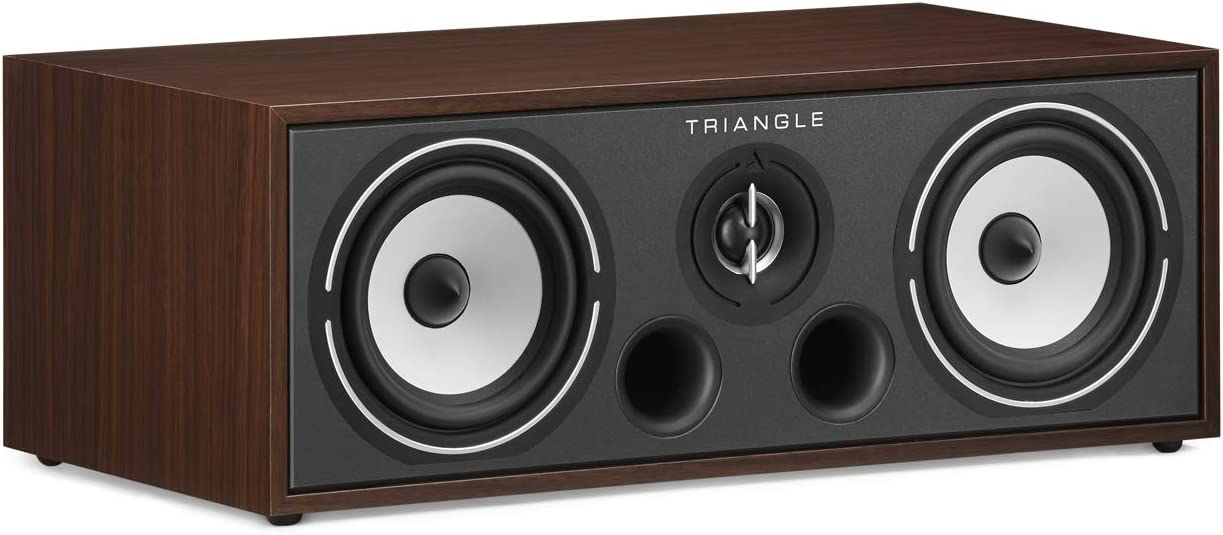 triangle HiFi Home Cinema Center Speaker - Borea BRC1, Walnut