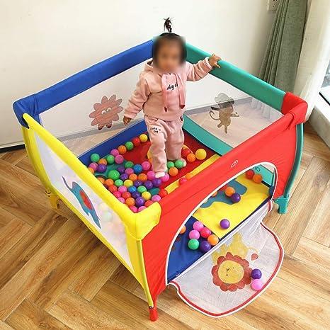 QFFL Parque de bebé Parque de Juegos para Bebés, Área de ...