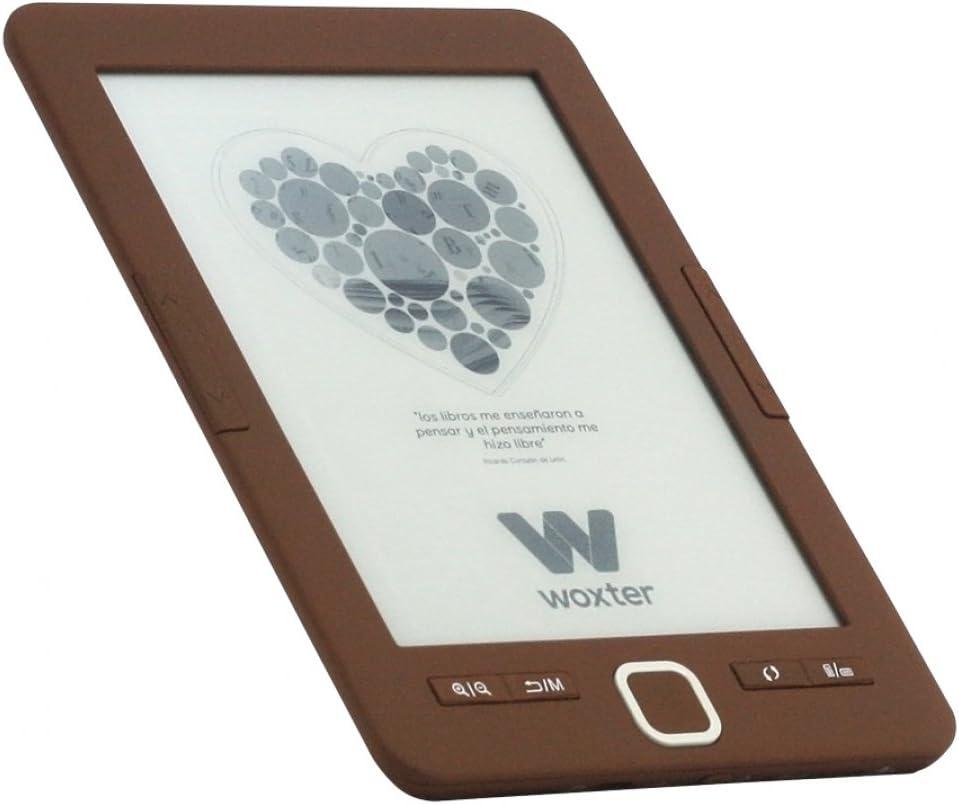 Woxter E-Book Scriba 195 Chocolate- Lector de Libros electrónicos 6