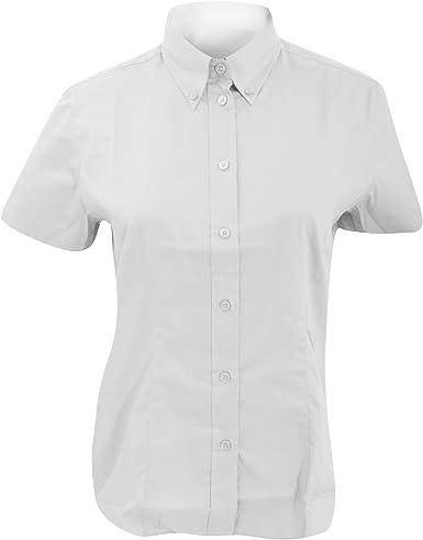 KUSTOM KIT Womens Corporate Oxford Shirt Camisa para Mujer: Amazon.es: Ropa y accesorios
