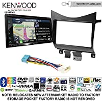 Volunteer Audio Kenwood Excelon DNX694S Double Din Radio Install Kit with GPS Navigation System Android Auto Apple CarPlay Fits 2003-2007 Accord