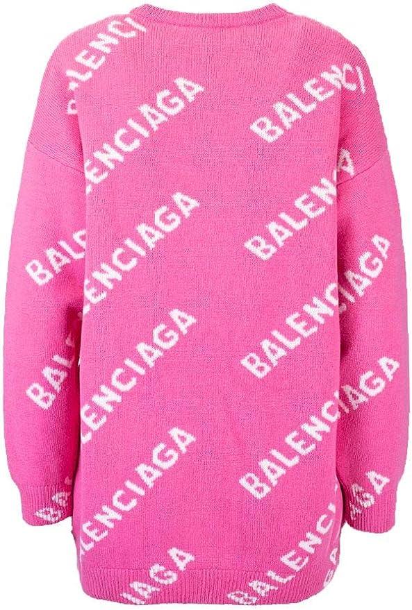 Barbiere Web spider imbuto Trattamento preferenziale  Balenciaga Luxury Fashion Donna 620983T15675621 Rosa Lana Maglione |  Autunno-Inverno 20: BALENCIAGA: Amazon.it: Abbigliamento