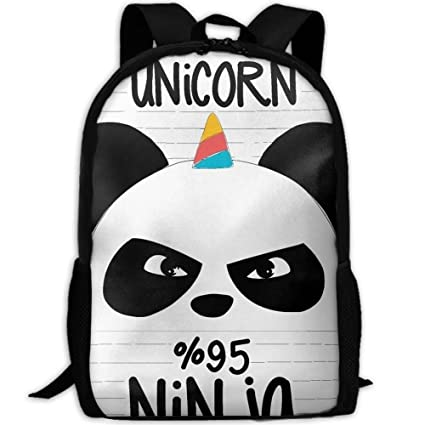 TRFashion Ninja Panda and Unicorn Interest Travel High ...