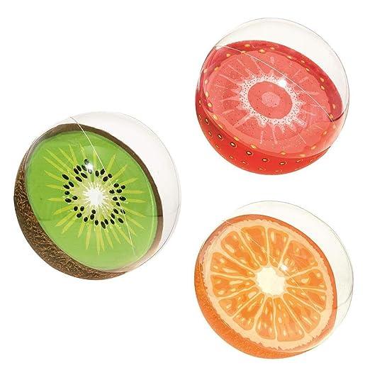 Pelota de playa inflable, pelota playa, fruta, pelotas inflables ...